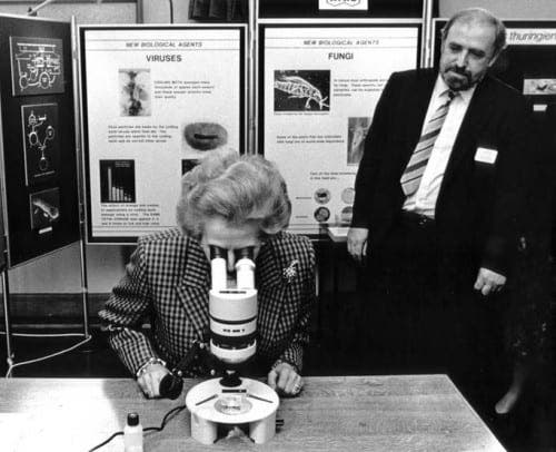 The unmistakable image of Margaret Thatcher