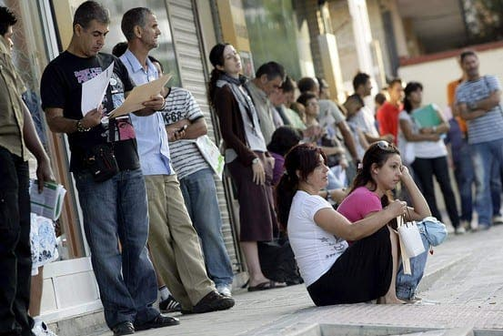 Spanish unemployment soars to record high