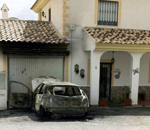 British expat burns to death in his car