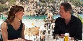 Camerons in Ibiza