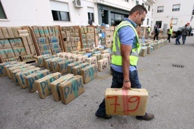 Double drugs haul in Andalucia