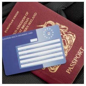 EHIC health card warning for tourists