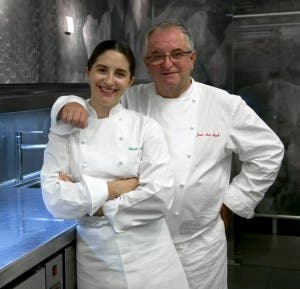 Elena y J.M. Arzak