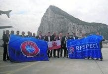 GFA back in Gib