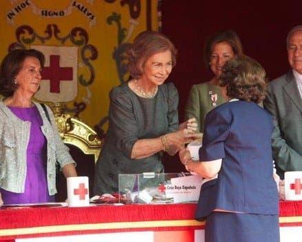 Queen Sofia heads to Malaga