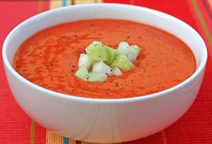 Gazpacho – it chills your blood!