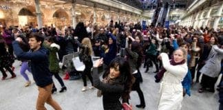 flamenco flashmob Spain e