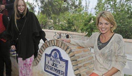 Joe Strummer finally gets his Spanish plaza
