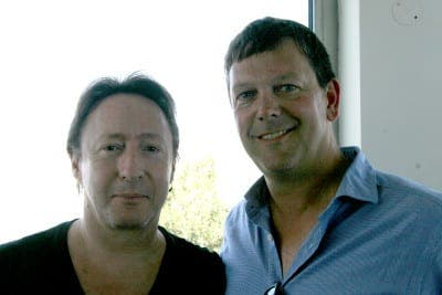 Julian Lennon pays flying visit to Gibraltar