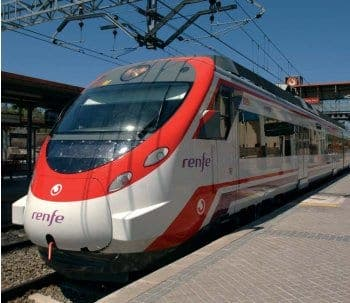 Rail services cut throughout Spain