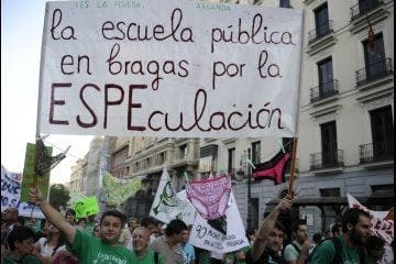Second school strike hits Spain