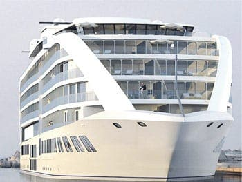 Controversial yacht hotel plan for Gibraltar