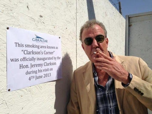 Top Gear arrive in Gibraltar