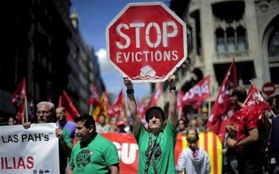 EU backs campaigners in calls to change Spain's mortgage laws