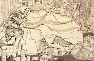 four-in-a-bed