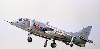 Spanish Jets in Gib