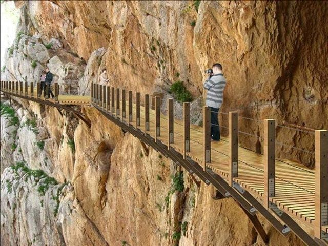 VIDEO: Path cleared for  Caminito del Rey project