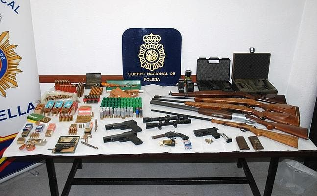 Gibraltarian and two other men detained for possession of firearms