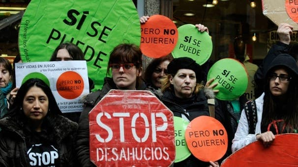 Injunction against Andalucia's anti-eviction laws
