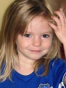 Scotland Yard has named 12 British suspects in Madeleine McCann case
