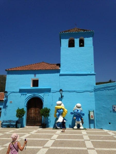 Smurfs 2 to premiere in Juzcar, the blue village in Spain