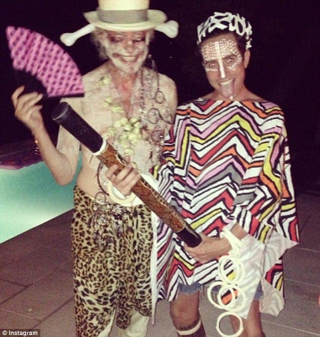 Birthday boy Nick Grimshaw celebrates in Spain