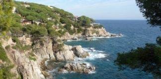 a spanish coastline