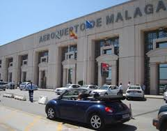 Malaga airport leaves Brits in a spin