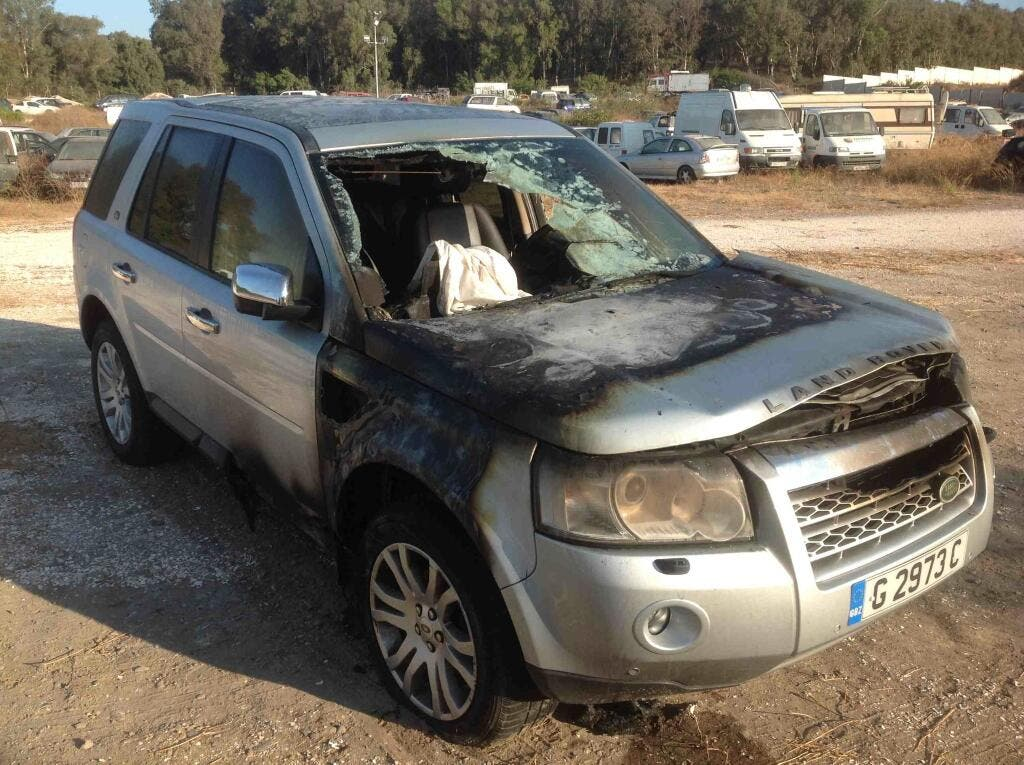 Gibraltar plated cars are being vandalised in Spain