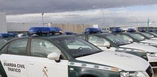 guardia civil trafico e