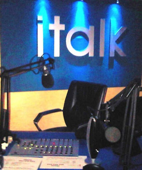 Maurice Boland's iTalk FM off air