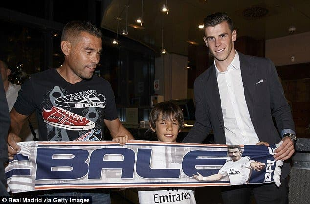 Gareth Bale comes to Real Madrid
