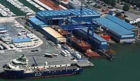 Balenciaga shipyard