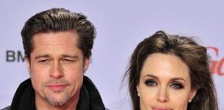 Brad Pitt and Angelina Jolie e