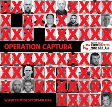 Crimestoppers close in on British fugitives in Spain