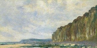 Monet Claude   Low Tide at Varengeville