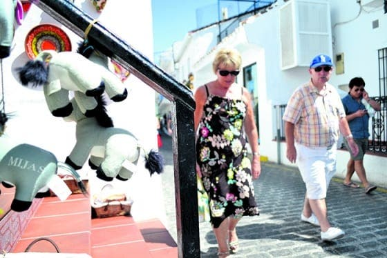 Mijas enjoys summer tourist boom