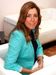 First woman president of Junta de Andalucia