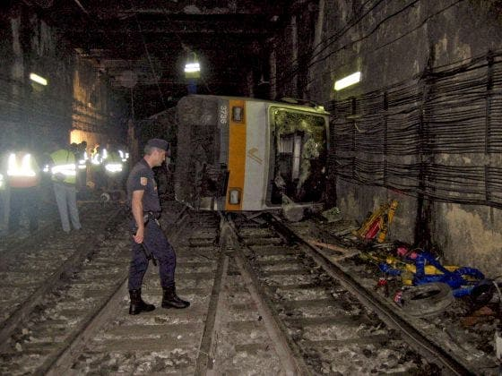 The court closes on the Valencia train crash of 2006