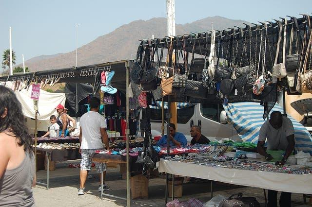 Market change in Estepona