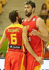 Spain nets place in EuroBasket second round