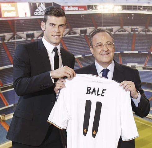Ronaldo and Bale firm friends