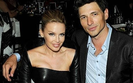 Unlucky Kylie Minogue splits with Spanish beau