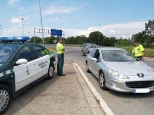 Crime - guardia civil traffic