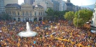 News catalan march barcelona
