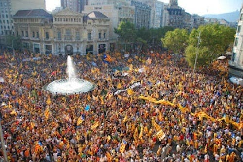 Catalan's call for unity
