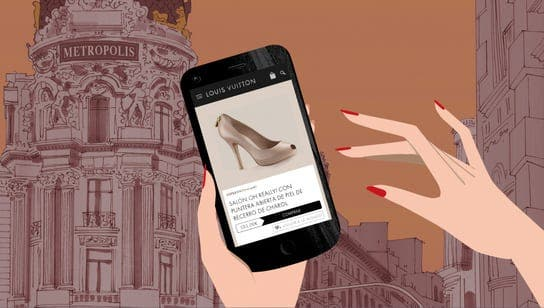 Louis Vuitton collaborates with Spanish illustrator to create new shopping app ads