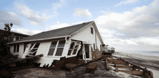 Property demolished coastal houses
