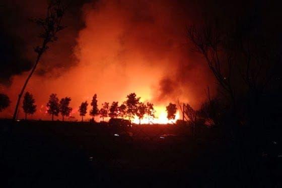 Hotel evacuated during Benalmadena blaze