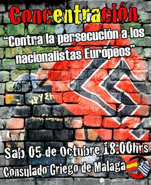 Nazis hold rally in Malaga